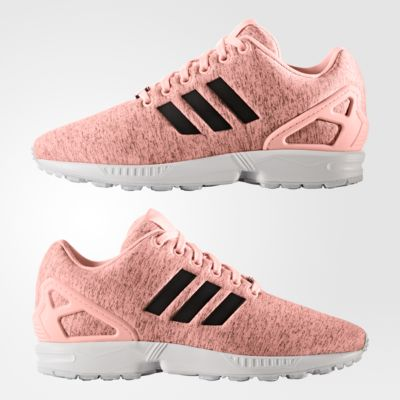 adidas - ZX Flux Shoes Haze Coral/Core Black/Footwear White BB2260